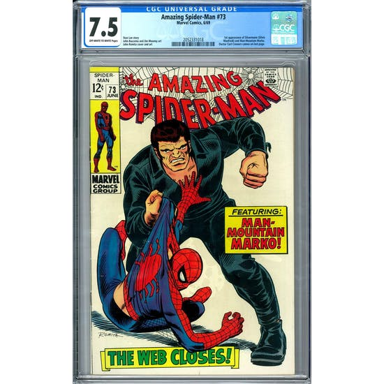 Amazing Spider-Man #73 CGC 7.5 (OW-W) *2052331018*