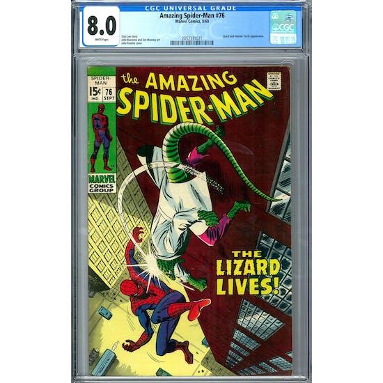 Amazing Spider-Man #76 CGC 8.0 (W) *2052331021*