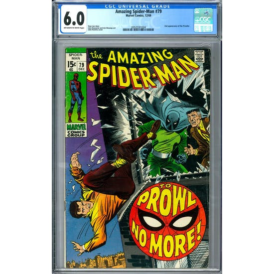Amazing Spider-Man #79 CGC 6.0 (OW-W) *2052331024*