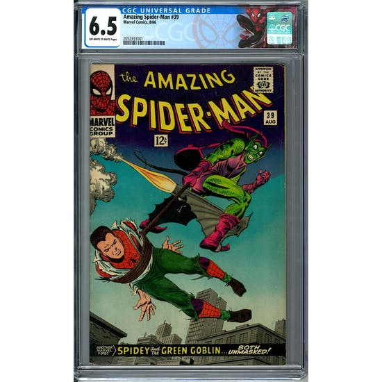 Amazing Spider-Man #39 CGC 6.5 (OW-W) *2052333001*