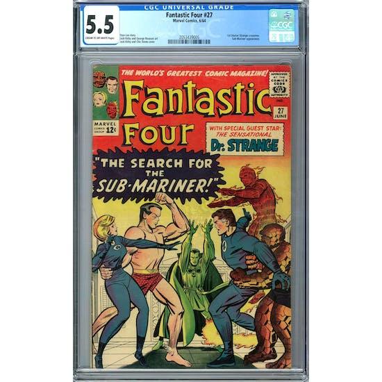 Fantastic Four #27 CGC 5.5 (C-OW) *2053439005*