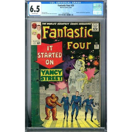 Fantastic Four #29 CGC 6.5 (OW) *2053439006*