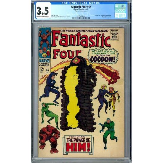 Fantastic Four #67 CGC 3.5 (C-OW) *2053439010*