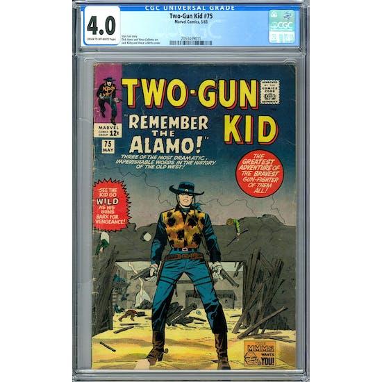 Two-Gun Kid #75 CGC 4.0 (C-OW) *2053439011*