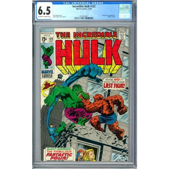 Incredible Hulk #122 CGC 6.5 (OW-W) *2053439021*