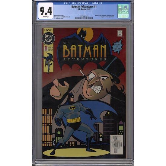 Batman Adventures #1 CGC 9.4 (W) *2053441019*