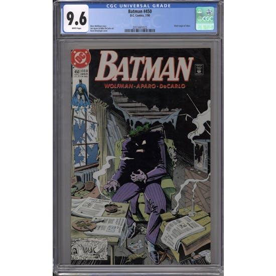 Batman #450 CGC 9.6 (W) *2053441023*