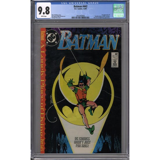 Batman #442 CGC 9.8 (W) *2053442003*