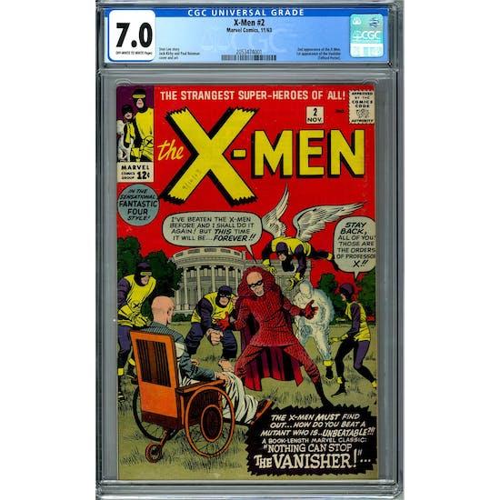 X-Men #2 CGC 7.0 (OW-W) *2053474001*