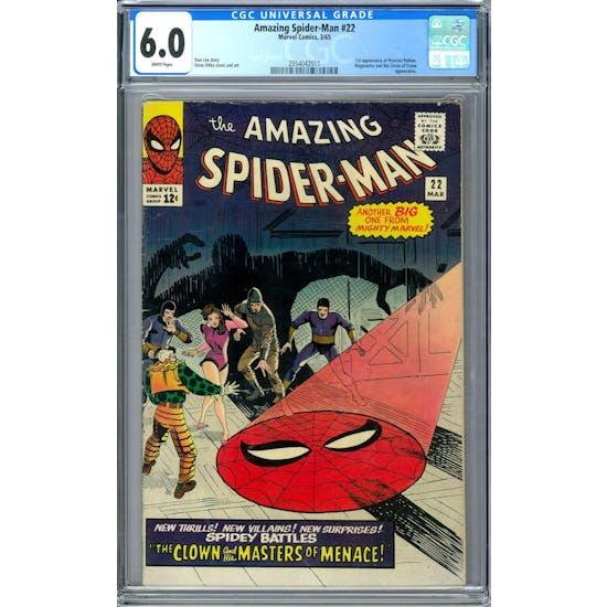Amazing Spider-Man #22 CGC 6.0 (W) *2054042011*
