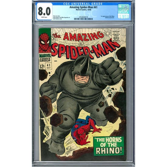 Amazing Spider-Man #41 CGC 8.0 (W) *2054042018*