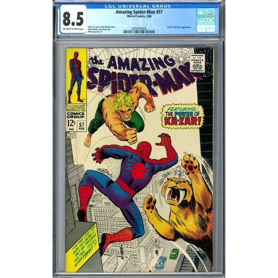 Amazing Spider-Man #57 CGC 8.5 (OW-W) *2054043003*