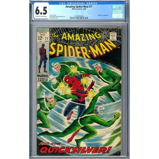 Amazing Spider-Man #71 CGC 6.5 (OW-W) *2054043008*