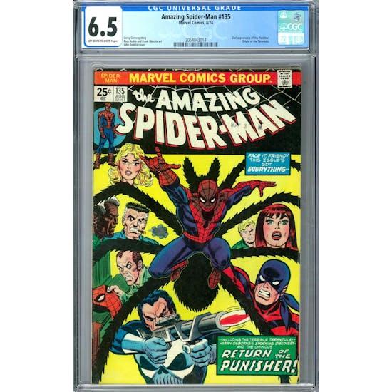 Amazing Spider-Man #135 CGC 6.5 (OW-W) *2054043014*