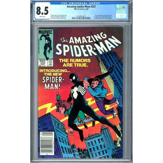 Amazing Spider-Man #252 CGC 8.5 (W) *2054043019*