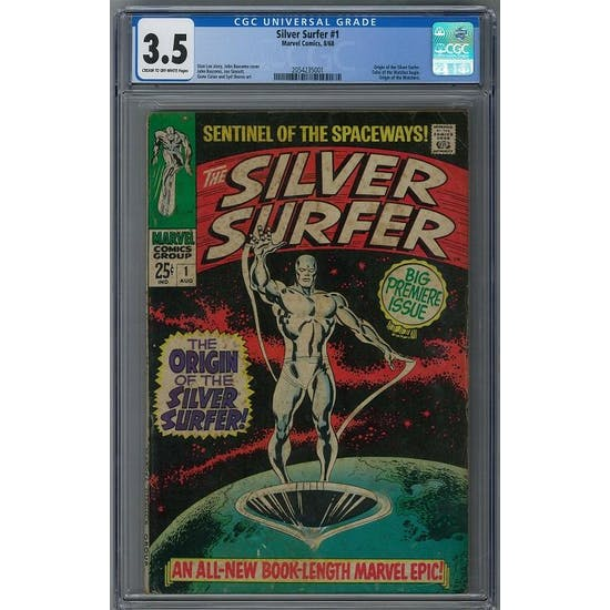 Silver Surfer #1 CGC 3.5 (C-OW) *2054235001*