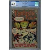 Fantastic Four #8 CGC 6.5 (C-OW) *2054325003*