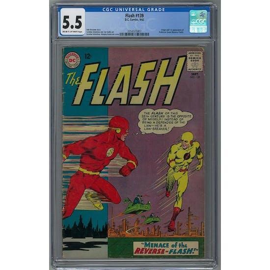 Flash #139 CGC 5.5 (C-OW) *2054325007*