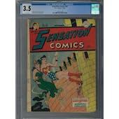 Sensation Comics #60 CGC 3.5 (OW) *2054325008*