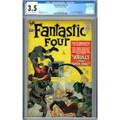 Fantastic Four #2 CGC 3.5 (C-OW) *2054327001*
