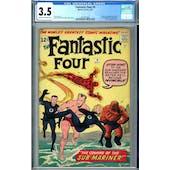 Fantastic Four #4 CGC 3.5 (C-OW) *2054327002*