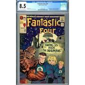 Fantastic Four #45 CGC 8.5 (OW-W) *2054327003*