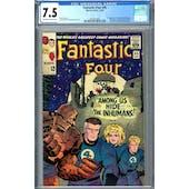 Fantastic Four #45 CGC 7.5 (OW-W) *2054327004*