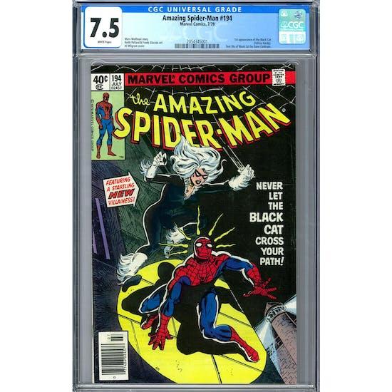 Amazing Spider-Man #194 CGC 7.5 (W) *2054345001*