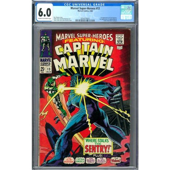 Marvel Super-Heroes #13 CGC 6.0 (C-OW) *2054374003*