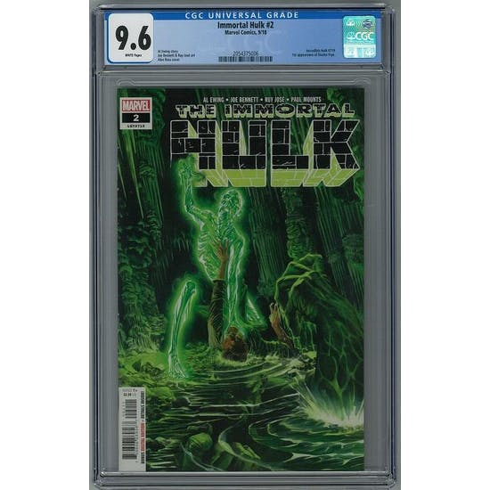 Immortal Hulk #2 CGC 9.6 (W) *2054375006*