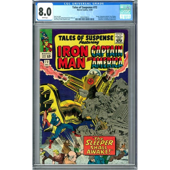 Tales of Suspense #72 CGC 8.0 (W) *2055254012*