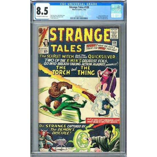 Strange Tales #128 CGC 8.5 (OW-W) *2055255015*