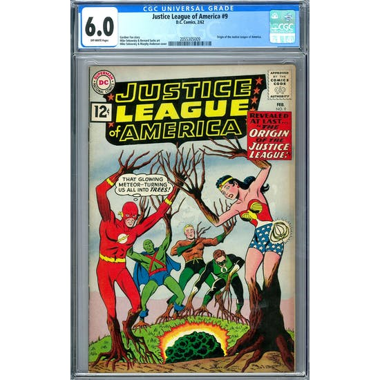 Justice League of America #9 CGC 6.0 (OW) *2055305009*