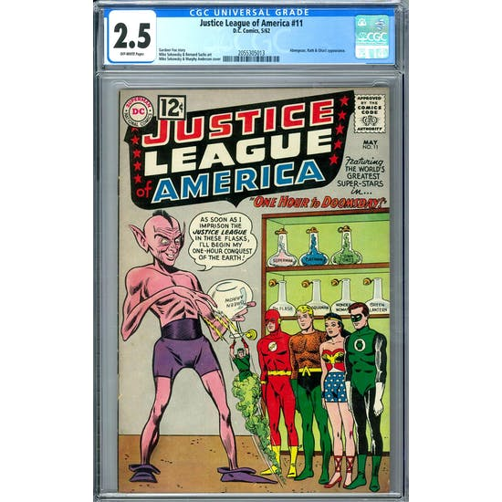 Justice League of America #11 CGC 2.5 (OW) *2055305013*