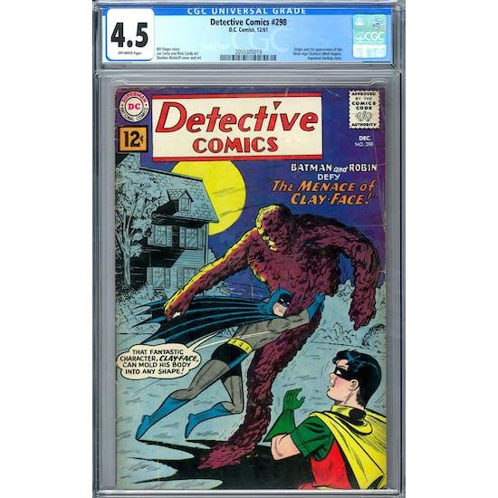 Detective Comics #298 CGC 4.5 (OW) *2055305019*