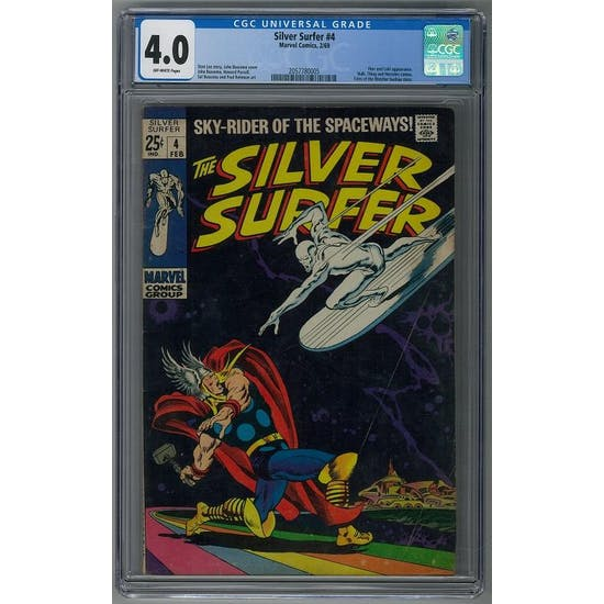 Silver Surfer #4 CGC 4.0 (OW) *2057780005*