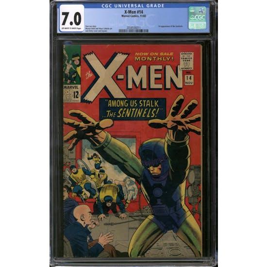 X-Men #14 CGC 7.0 (OW-W) *2058556011*