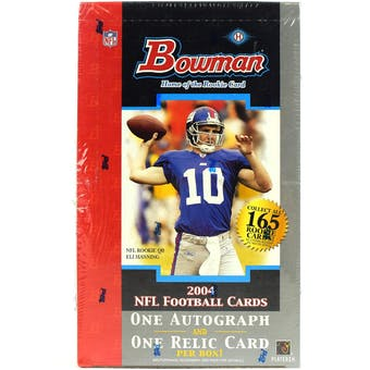 2004 Bowman Football Hobby Box