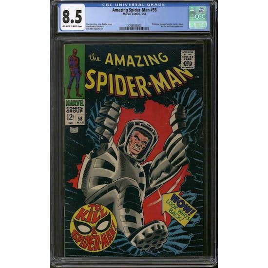 Amazing Spider-Man #58 CGC 8.5 (OW-W) *2059938003*