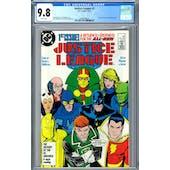 Justice League #1 CGC 9.8 (W) *2060289024*