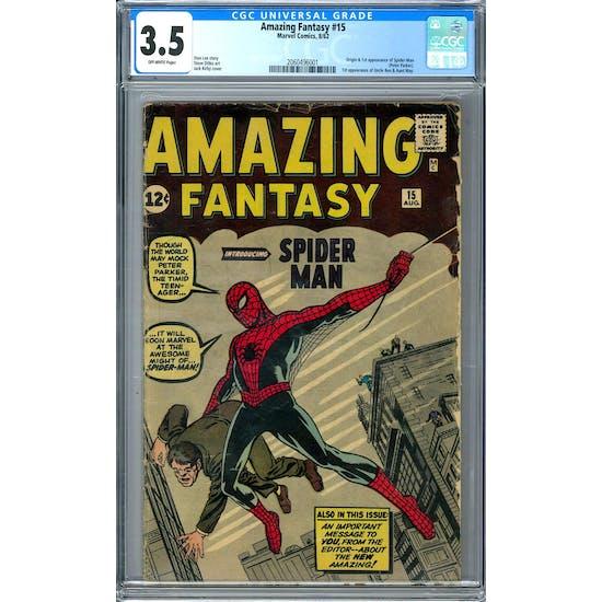 Amazing Fantasy #15 CGC 3.5 (OW) *2060496001*