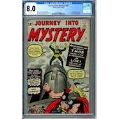 Journey Into Mystery #85 CGC 8.0 (W) *2060508001*