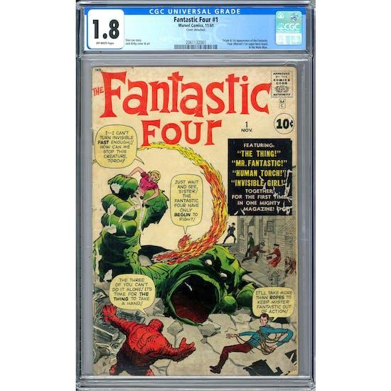 Fantastic Four #1 CGC 1.8 (OW) *2061132001*