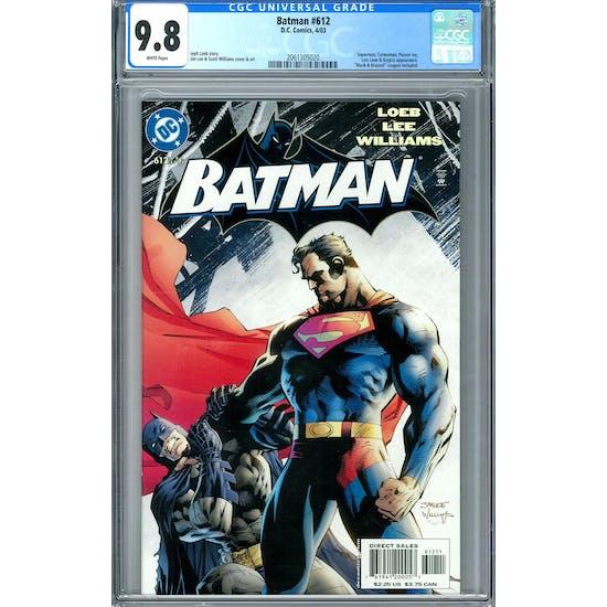 Batman #612 CGC 9.8 (W) *2061305020*