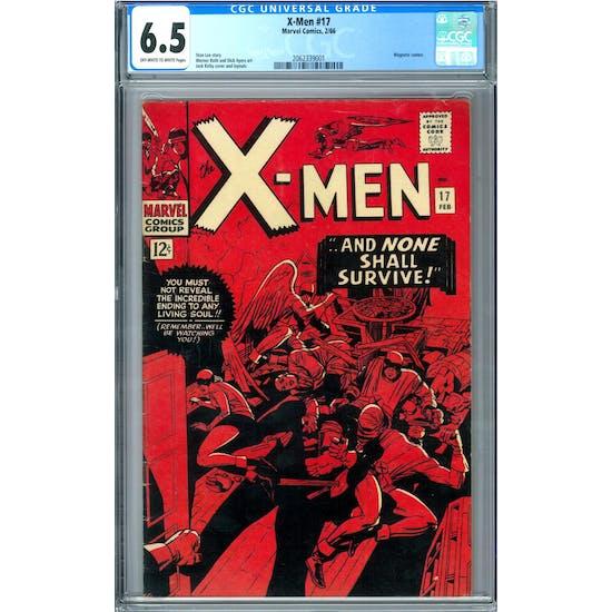 X-Men #17 CGC 6.5 (OW-W) *2062339001*