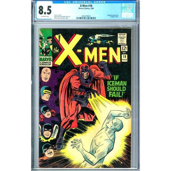X-Men #18 CGC 8.5 (OW) *2062339002*