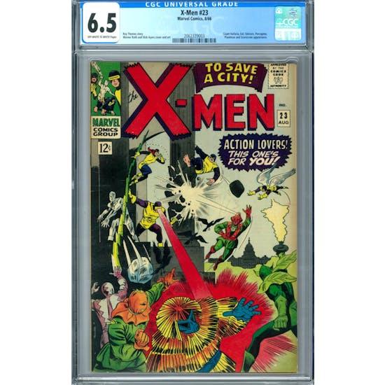 X-Men #23 CGC 6.5 (OW-W) *2062339003*