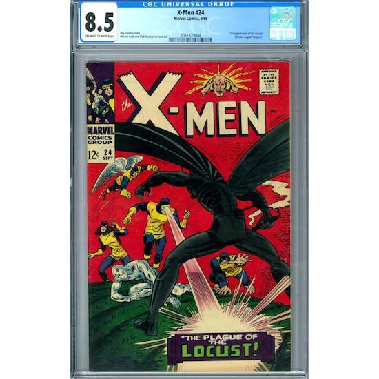 X-Men #24 CGC 8.5 (OW-W) *2062339004*