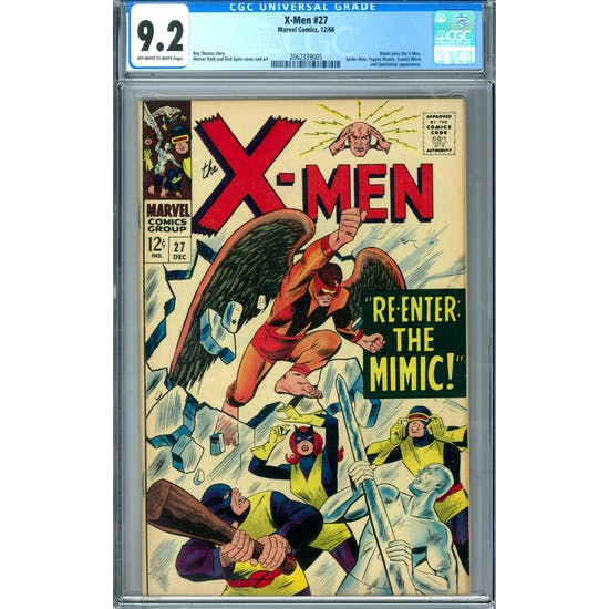 X-Men #27 CGC 9.2 (OW-W) *2062339005*