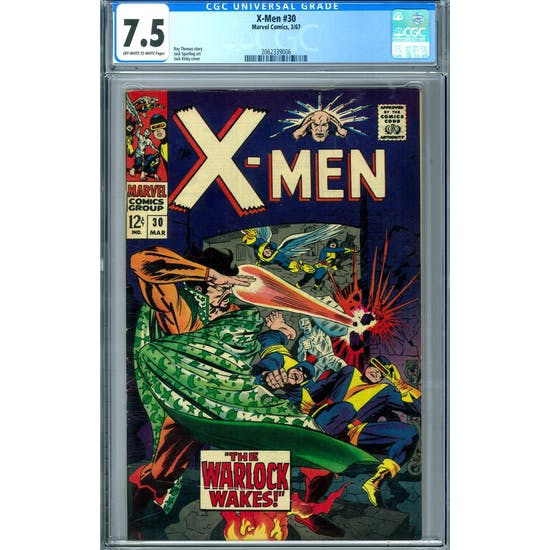 X-Men #30 CGC 7.5 (OW-W) *2062339006*